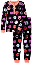 Petit Lem Long Sleeve Pajama Set (Little Girls & Big Girls)