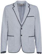 Kitsune Maison Patch Pockets Striped Blazer