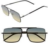 Marc Jacobs Women's 55Mm Aviator Sunglasses - Black