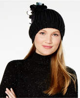 INC International Concepts I.n.c. Paillette Pom-Pom Beanie, Created for Macy's