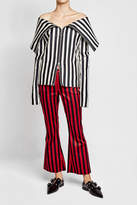 Marques Almeida Marques' Almeida Striped Flared Pants