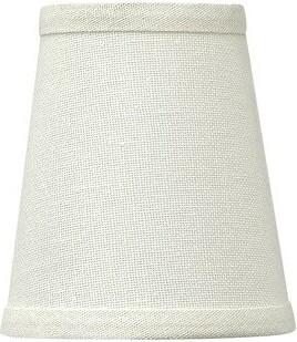 """Waverly Hinkley Lighting 4.5"""" Linen Bell Candelabra Shade Hinkley Lighting"""