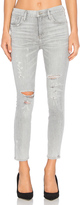A Gold E AGOLDE Sophie High Rise Crop Skinny