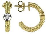 Torrini Rondelle - 18K Gold and Diamond Earrings