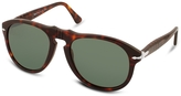Persol Arrow Signature Aviator Plastic Sunglasses