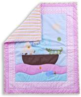 Dream On Me Sea Friends 5-Piece Reversible Portable Crib Bedding Set