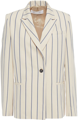 Victoria Victoria Beckham Striped Cotton-twill Blazer