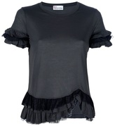 RED Valentino Ruffle detail top