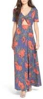 Tularosa Women's 'Desi' Floral Print Maxi Dress
