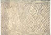 Nalbandian 7'7x5'3 Khonsu Flat-Weave Rug, Gray
