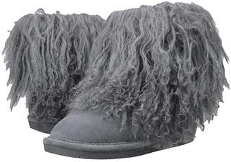 BearPaw Boo (Charcoal Suede) Women's Shoes