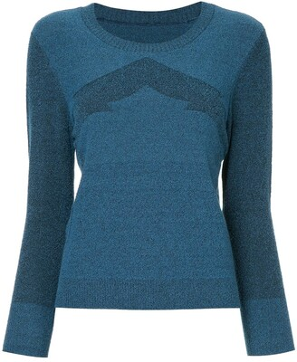 Onefifteen Knitted Chevron Top
