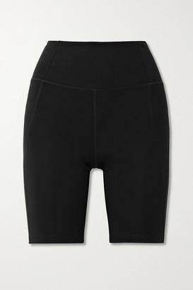 Girlfriend Collective Bike Stretch Shorts - Black