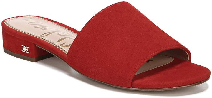 49e161a40b Sam Edelman Red Women's Sandals - ShopStyle