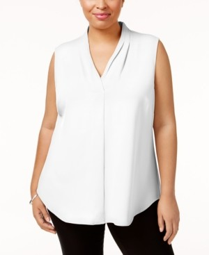 Calvin Klein Size Pleated Shell