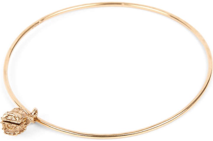 Annina Vogel 9ct gold Treasure Chest bangle