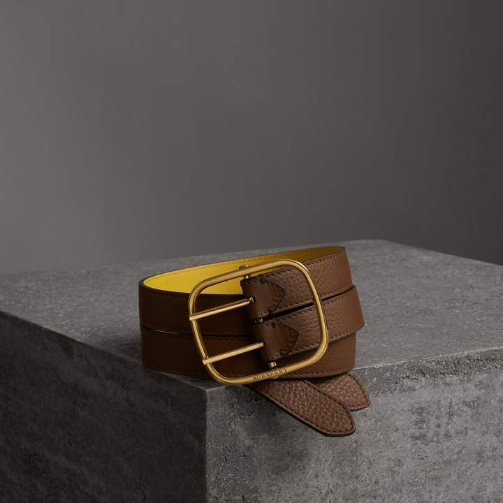 Burberry Reversible Double-strap Leather Belt