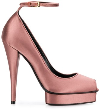 Tom Ford platform 130mm peep toe pumps