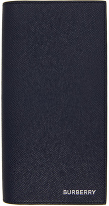 Burberry Navy Continental Wallet