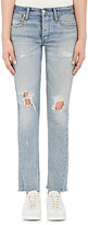 RE/DONE Women's Distressed Low Rise Skinny Jeans