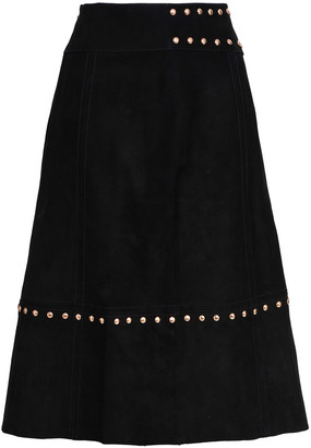 Kate Spade Baja Bound Studded Suede Skirt