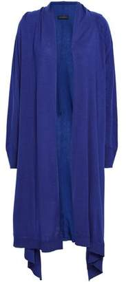 Donna Karan Draped Knitted Cardigan