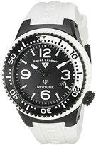 Swiss Legend Men's 21848P-BB-01-WB Neptune Analog Display Swiss Quartz White Watch