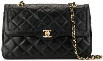 Chanel Pre-Owned 1990 quilted CC shoulder bag