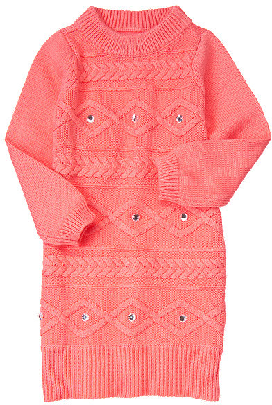 Gymboree Gem Cable Sweater Dress