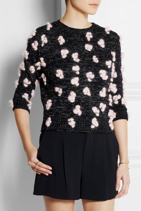 Chloé Candyfloss wool-blend sweater