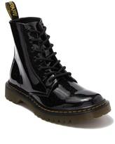 Dr. Martens Luana Glitter Leather Combat Boot