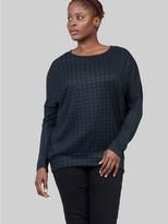M&Co Izabel Curve checked pullover jumper