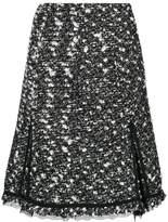 Giambattista Valli high-waisted tweed skirt
