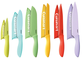 Cuisinart Color Stainless Steel Knife Set (12 PC)