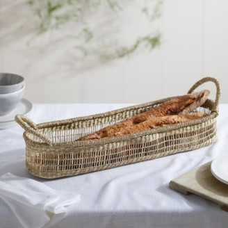 The White Company Seagrass Long Oval Tray, Natural, One Size