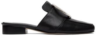 Dorateymur Black Petrol Slip-On Loafers