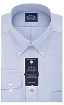 Eagle Men's Non Iron Flex Collar Regular Fit Solid Buttondown Collar Dress Shirt