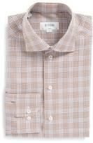 Eton Men's Slim Fit Plaid Dress Shirt
