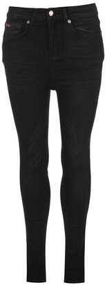 Lee Cooper Black Pearl Skinny Ladies Jeans