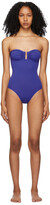 Thumbnail for your product : Eres Blue Cassiopee One-Piece Swimsuit