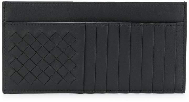 Bottega Veneta nero nappa card case