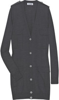 Jil Sander Military wool cardigan
