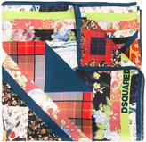 DSQUARED2 Floral foulard scarf