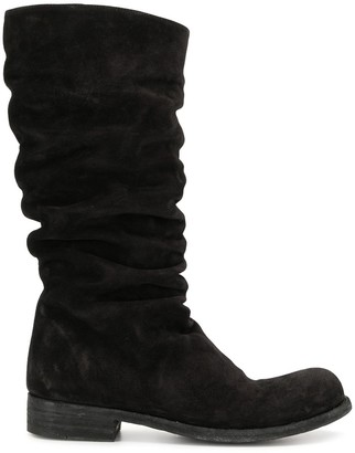 Officine Creative Ruffled Boots