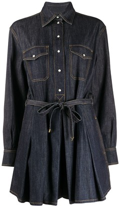 Valentino Denim Mini Dress