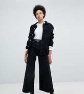 Weekday Ace wide leg jeans with organic cotton in black