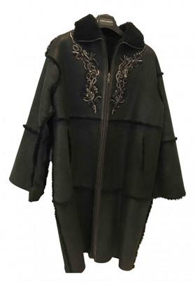 Antik Batik Black Fur Coats