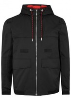 Dior Homme Black Hooded Gabardine Jacket