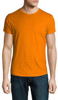Orlebar Brown Cotton Solid Crewneck T-Shirt