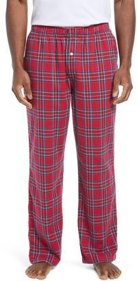 L.L. Bean Men's Plaid Flannel Pajama Pants